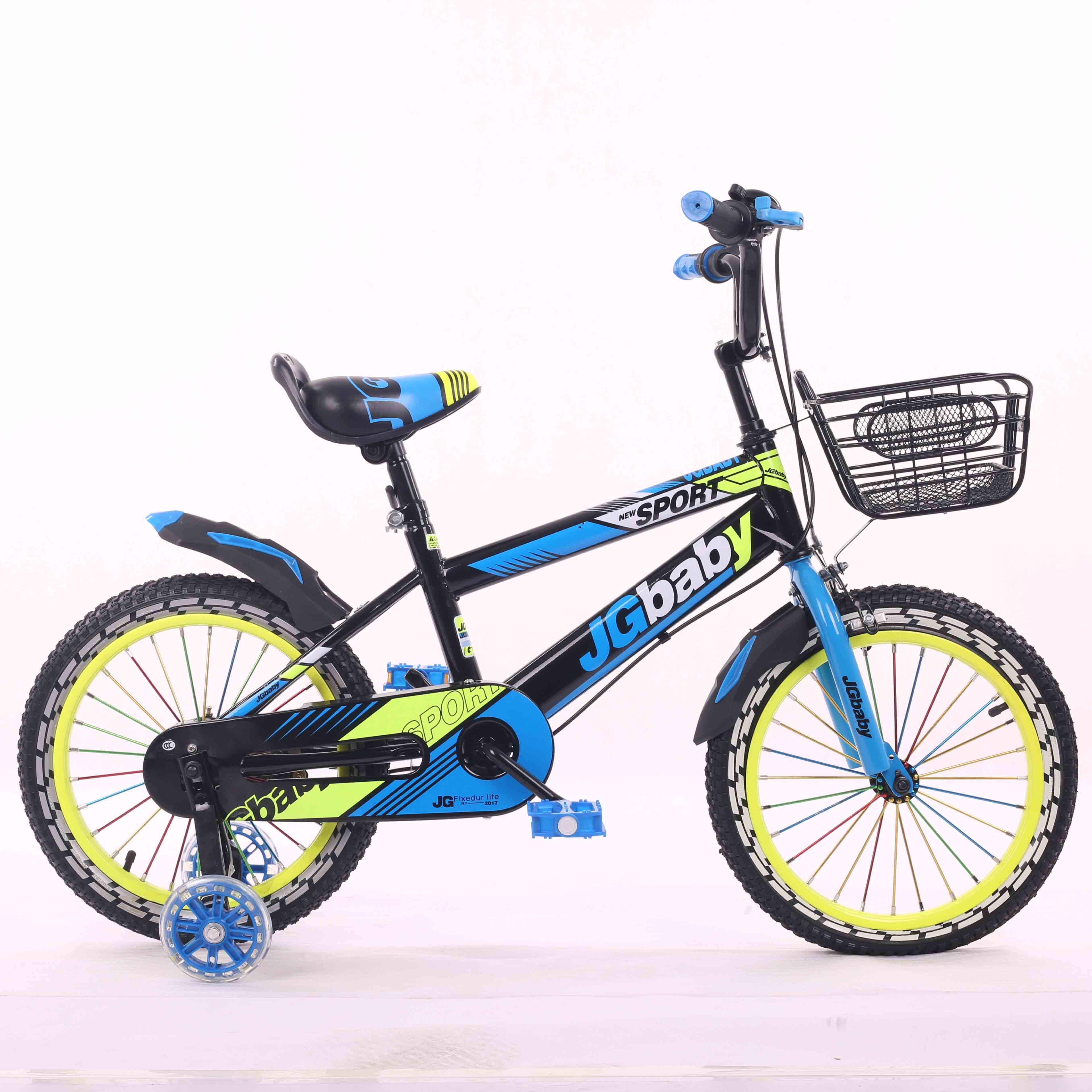 "Wholesale Hot Selling Kids Bicycle 12""14""16"" 18"" Baby Cycle For 3-9 Years Old Children"