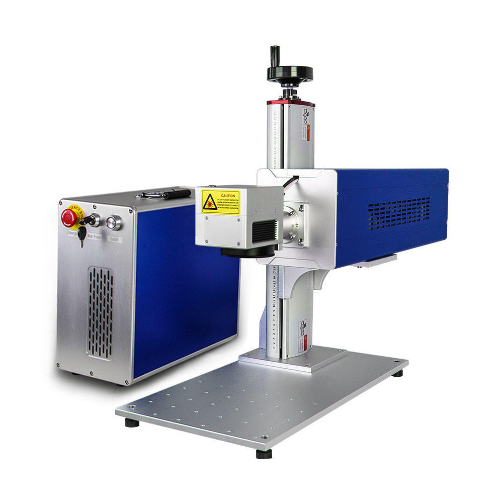 Galvo Synrad CO2 Laser-markering Machine CO2 Laser-markering Machine Voor Hout Acryl 30W Coherent Laser Bron CO2 Graveur