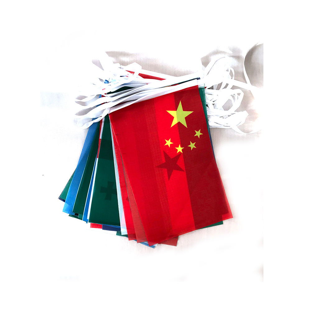 Different countries String Flags International World Banner Bunting bar home party decoration