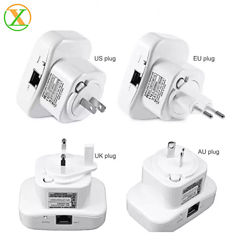 Wireless Wifi Repeater 300Mbps 802.11n/b/g Network Wifi Extender wifi booster US EU UK AU plug
