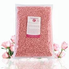 Free Sample New Wholesale 1KG Rose Paperless Painless Hot Film Pink Hair Removal hard Wax for Depilation