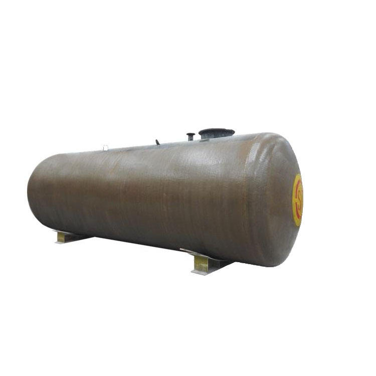 Gas station use underground double wall diesel fuel storage tank
