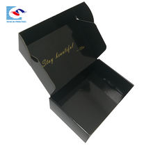 High quality design foldable package for gift corrugated paper box
