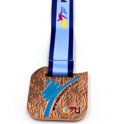 Hot Sale Custom Unique Design Making Gymnastic Metal 3d Gymnastics Souvenir Medals
