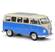 WELLY 1:18 Volkswagen T1 Bus Simulation Alloy Car Model Classic Car Collection Decoration