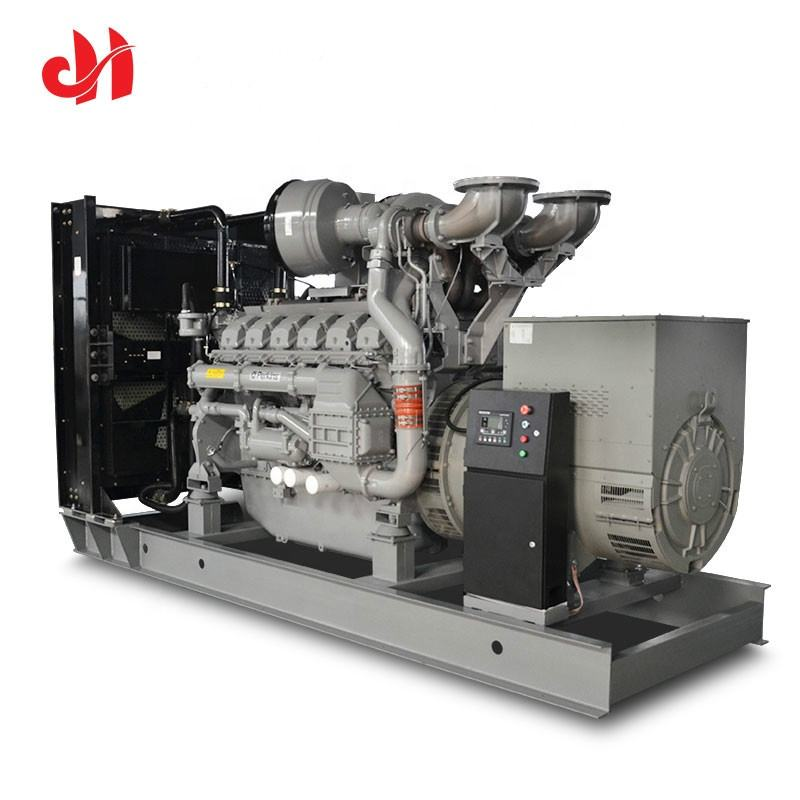 800kw 100 kv 1000 kva us general generator 80 kw dc high voltage generator with 4008TAG2A