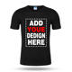 Promotional cheap basic t-shirt custom design quick dry round neck plain t shirt