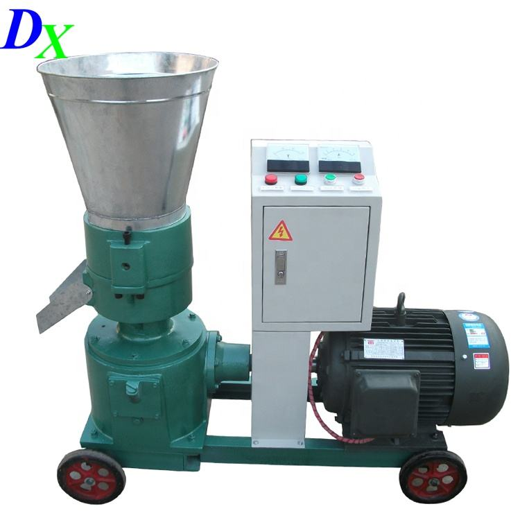 Factory portable Wood pelletizer CE supplier