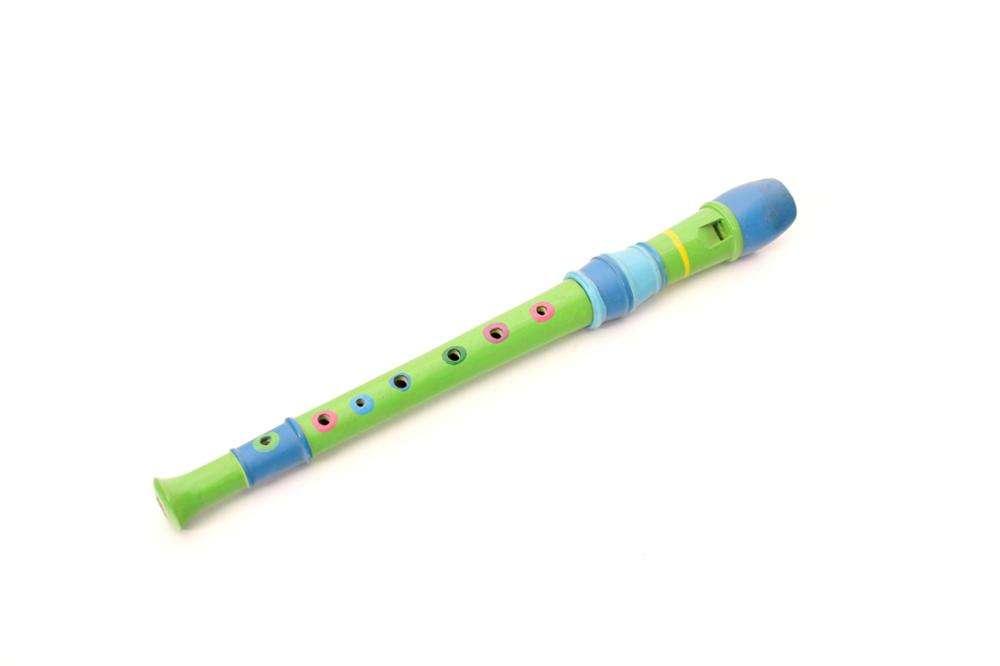 Offre Spéciale couleur naturelle 10 trous flûte en bois instrument de musique jouets pour enfants traditionnel bois jouet instrument de musique