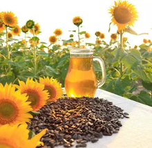 100% Cold pressed sunflower seed oil