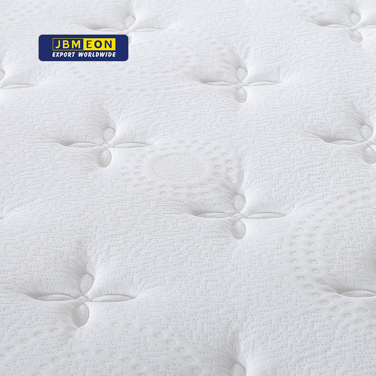 Euro Top 9 Inch Medium Firm Tight Top memory foam and breathable pocket spring roll compressed mattress bed