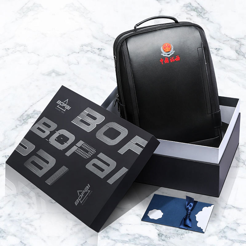 OEM China Bopai factory custom men company luxury business gifts