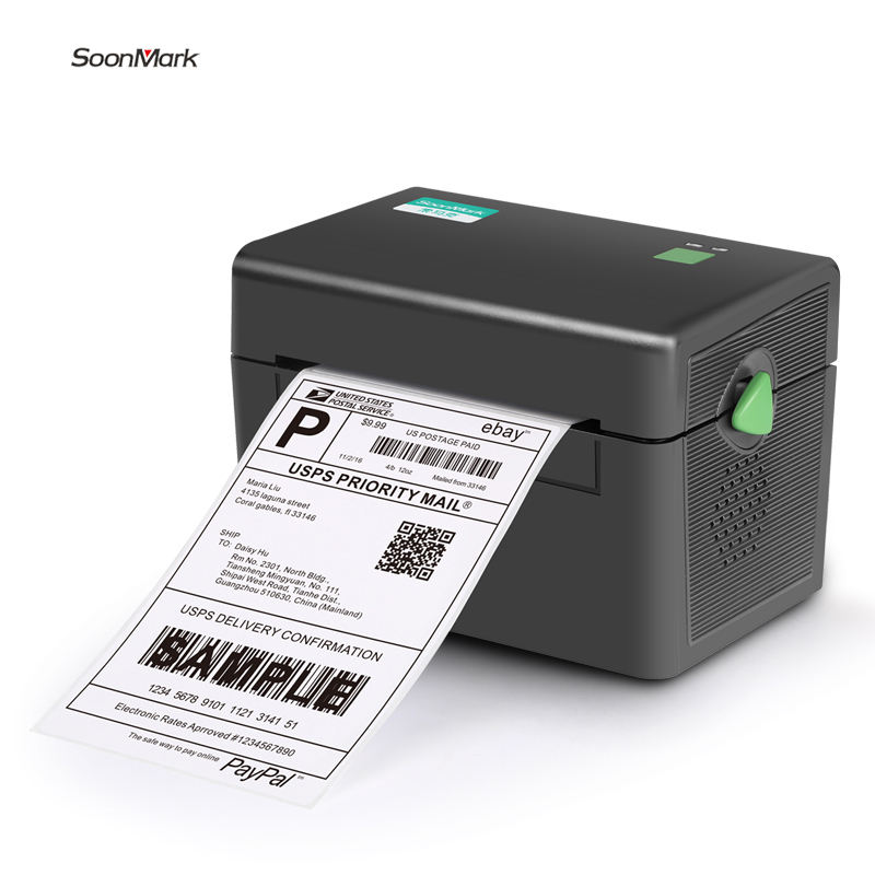 Soonmark M4 108Mm Thermische Label <span class=keywords><strong>Printer</strong></span> 4X6 Label <span class=keywords><strong>Printer</strong></span> 4Inch Label <span class=keywords><strong>Printer</strong></span>