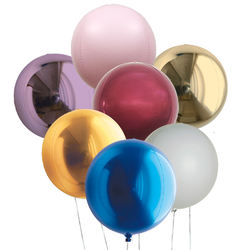 7-32 Inch Different Colors Helium Party Balloon For Decoration
