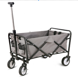 Stock Europe Supermarket hot sell Mini Camping trolley foldi