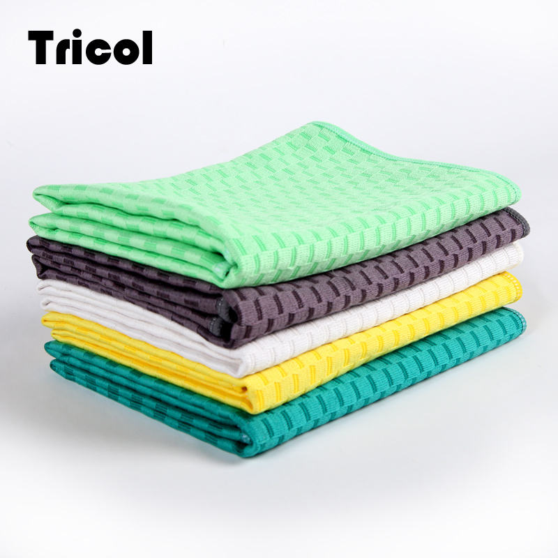 Hot Selling Super Absorption Polishing Microfiber Cleaning Cloths Kitchen Towel for Kitchen Cleaning