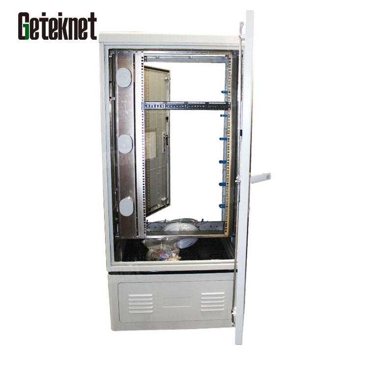22u outdoor fiber splice fiber optic cross connect cabinet fiber closure onu cabinet waterproof network cabinet