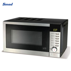 110V UL 0.7 cuft Stainless Tabletop Digital Microwave Oven With Grill