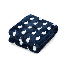 printed Flannel Warm Blankets Baby Swaddle Wrap Travel Baby Blanket For Winter