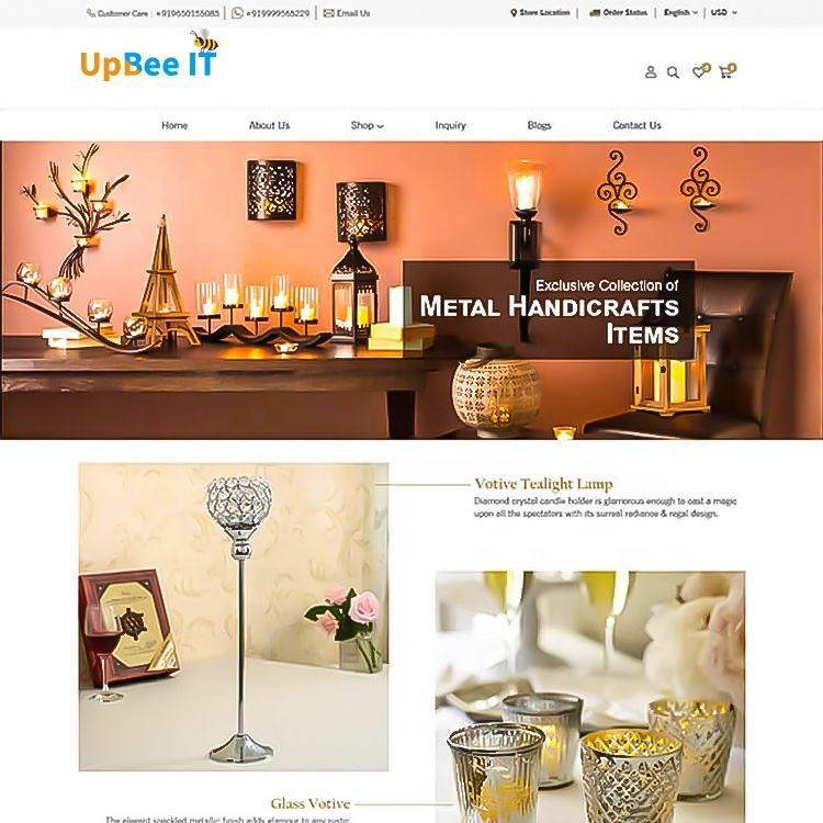 Beauty makeup Web Development and eCommerece site for online Shopping, Professional Website designer