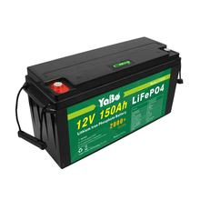 24Ah 100Ah 150Ah 200Ah 220Ah Rechargeable Solar Lithium Ion Phosphate Pack Deep Cycle LiFePO4 12v 150ah Battery