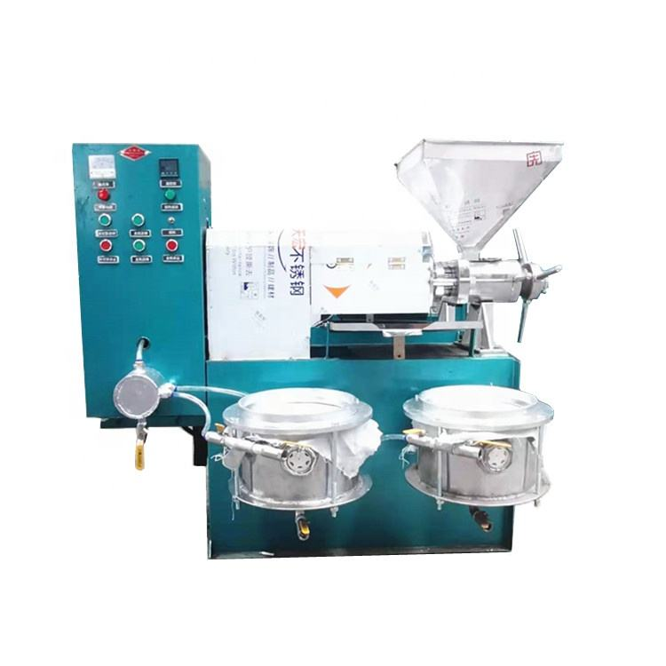 6YL-120 A Small Cold Press Grape Seeds Coconut Mustard Oil Extraction Machinery/6YL-125