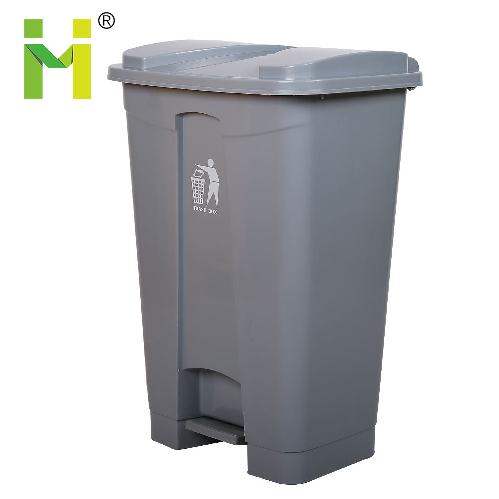 11 gallon 13 gal rectangular bus shelter outdoor plastic trash can