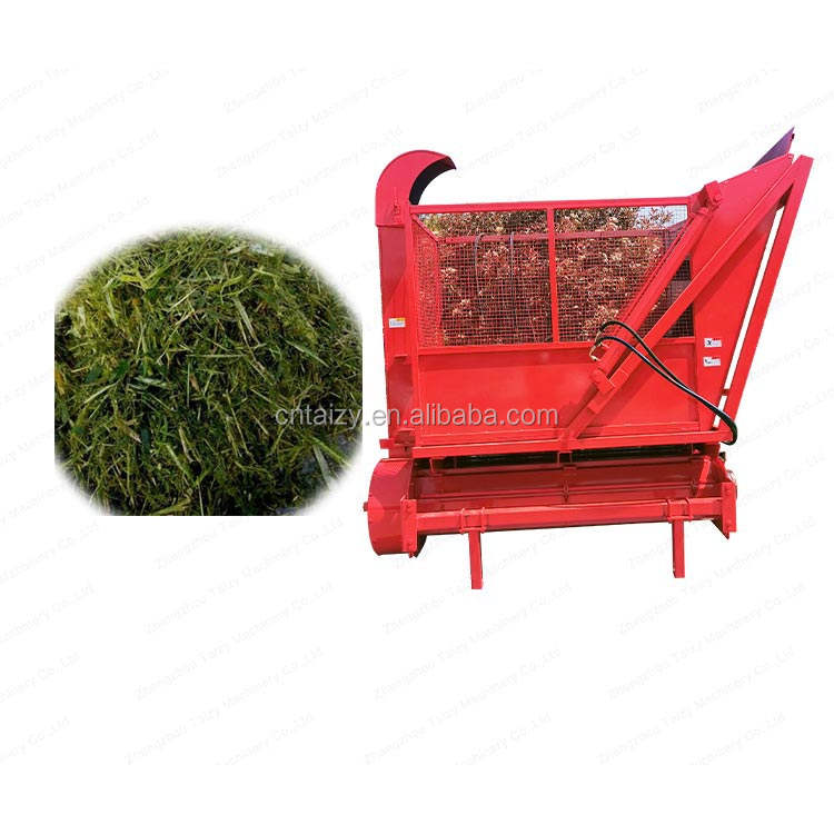 animal feed making machine maize silage harvester
