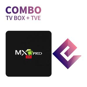 Android tv box pro 2g /16g +annual tve express +IR control Sao Paulo, Brazil local Delivery