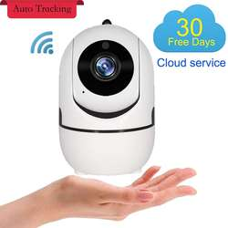Wifi Wireless Security Camera Pet Camera 1080P Smart IP Camera With Motion Detection Two-Way Audio IR Night Vision Cloud Storage