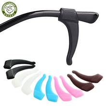 Anti-Slip Soft Eyeglass Ear Grip Silicone Elastic Ear Hook Eyeglasses Temple Tips Sleeve Retainer For Spectacles Sunglasses