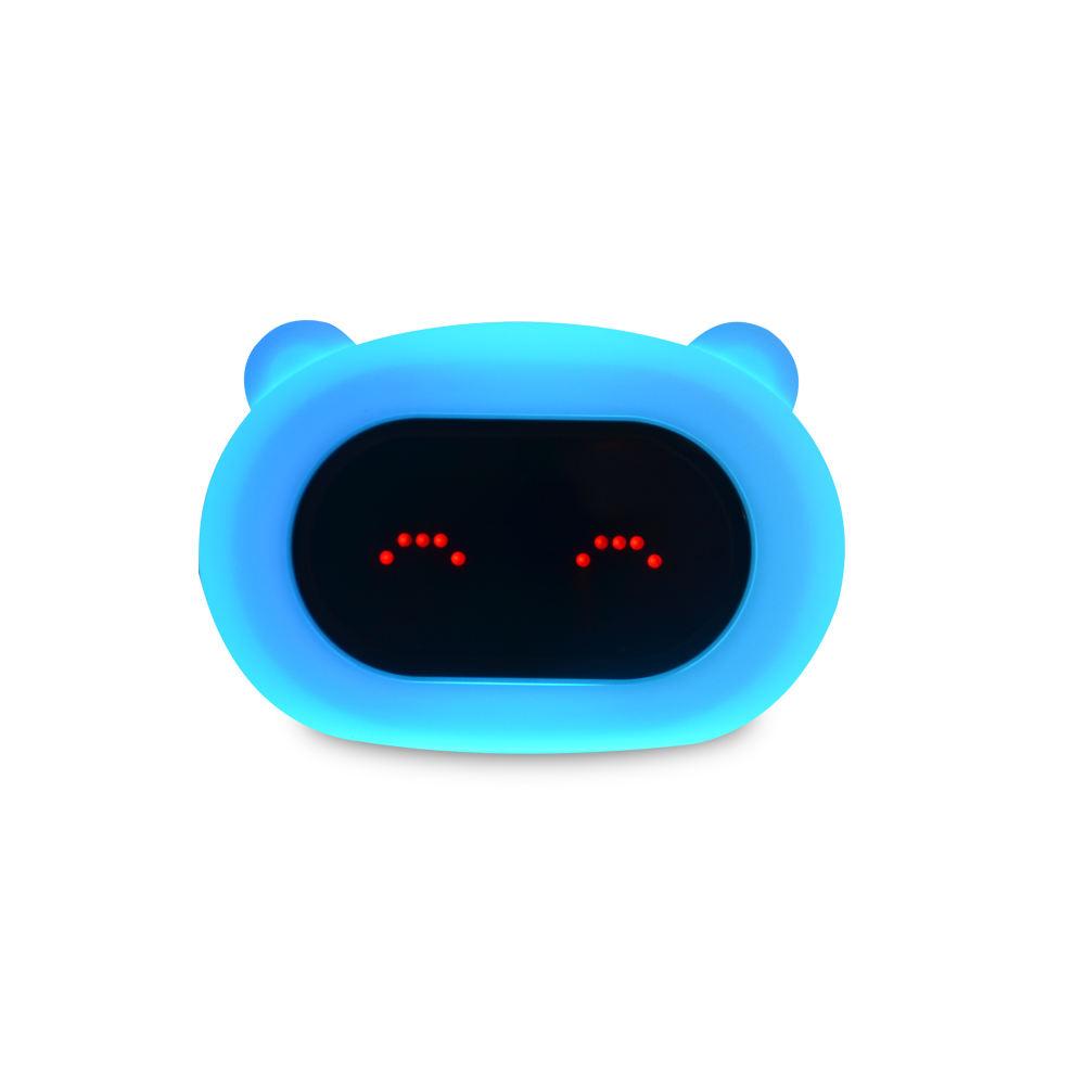 Automatisch Farbwechsel mit tap control <span class=keywords><strong>wunderbare</strong></span> songs fanny LED gesicht nachtlicht für kinder kleinkinder schlafzimmer