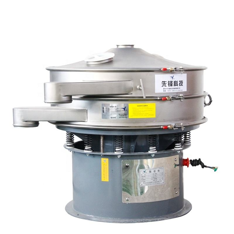 XF1000 800kg per hour capacity powder coating sieve machine