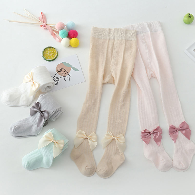 Girls Leggings Cotton Outer Wear Solid Colors Warm Baby Leggings Full Length Girl Pants Legging Children's Tight Pants