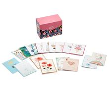 24 New Design Wholesale High Quality Handmade Box Cards Set All Occasion Assorted Greeting Cards