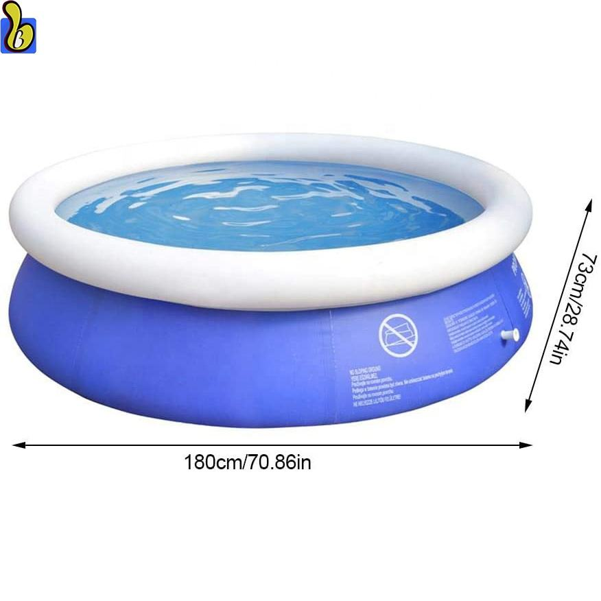 Outdoor Inflatable Round Pool Swimming Pool For Kids