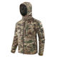 ESDY Outdoor Waterproof Hunting Camping Combat Jacket Military Army Tactical Windbreaker Hooded