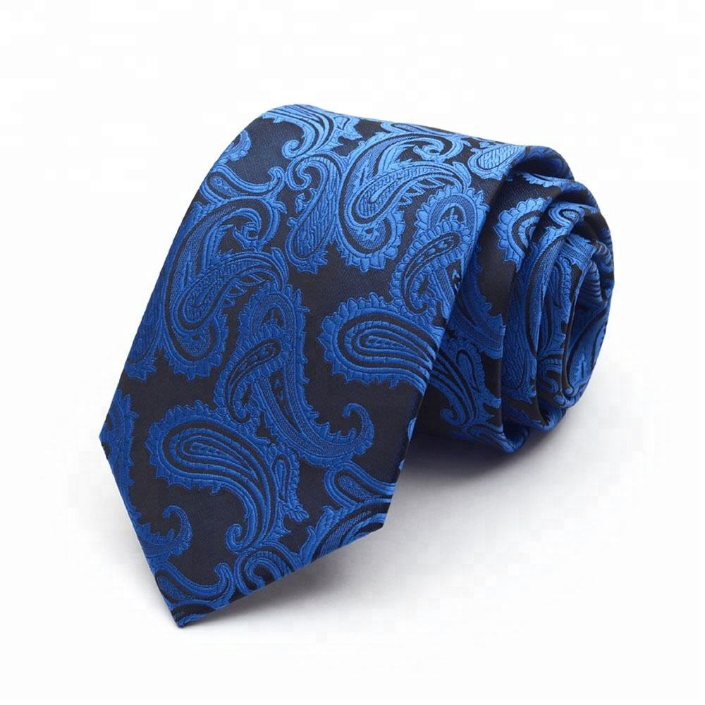 Yarn Dyed Polyester Necktie for Office Work
