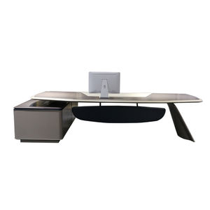 Popular Luxury Office Furniture Unique Shape Boss Table Executive Exclusive Ceo Desk Wholesale Office