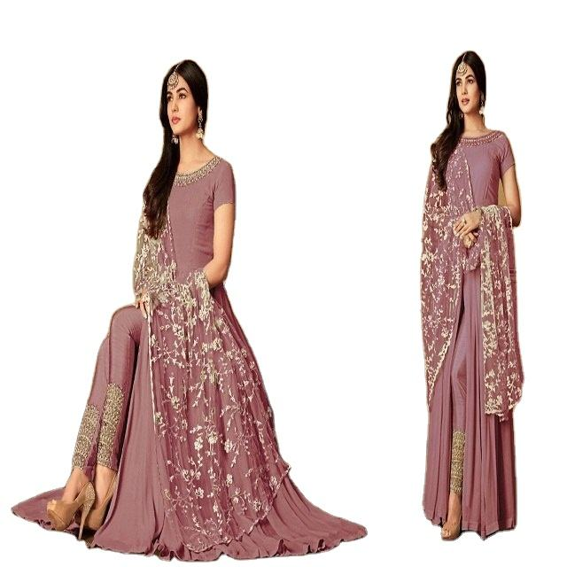 Exclusive Party Wear Pakistani Salwar Kameez / Designer Traditional Original Anarkali Style Churidar Suits In India