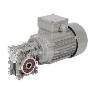 High quality aluminum worm speed gear box reducer for AC motor
