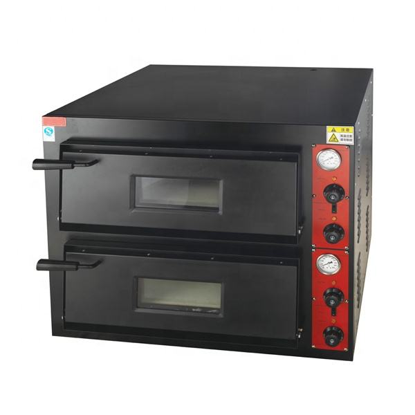 Astar Stainless Steel Body Mechanical Timer Control Professional Bakery Industrial Electric Pizza Oven