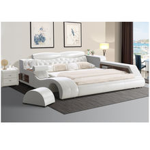 top sale bedroom bed multifunctional with audio