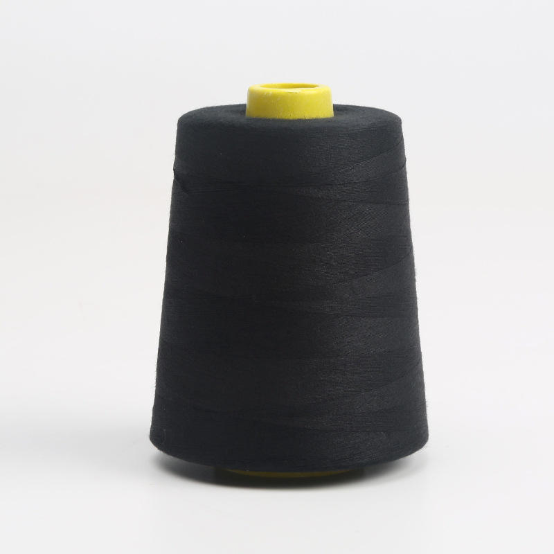 100% Dyed Polyester Spun Sewing Thread with high quality for Sewing Machines
