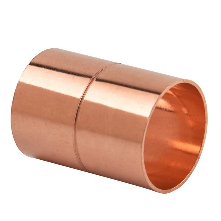 rolled stop coupling copper fit