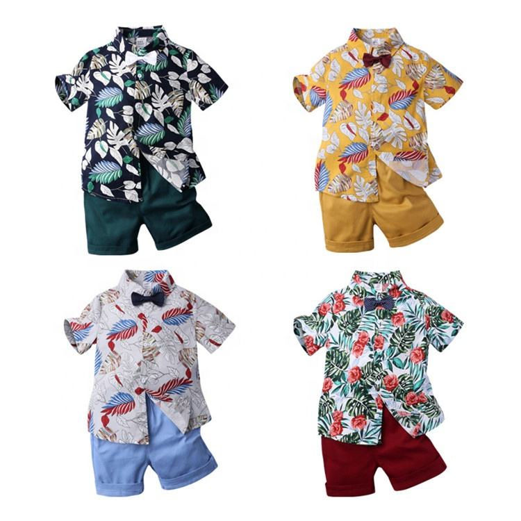 Hot Sale Clothing Wholesale Eco-friendly Korean Clothing sets 2 pieces for children