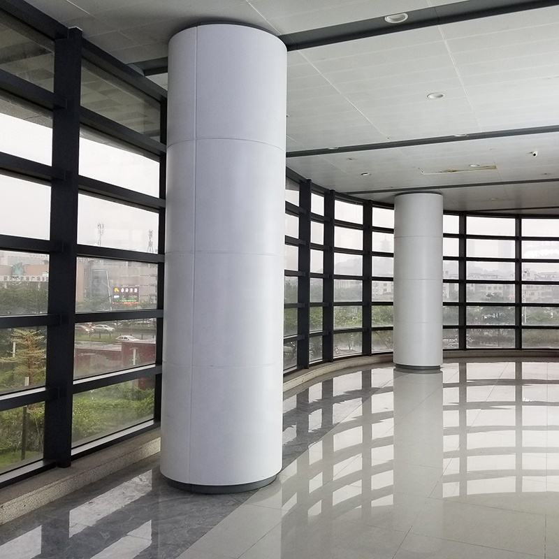 Customized Stainless Steel Round Column Cladding