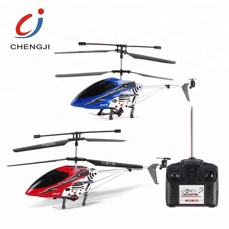 Radio and gyro 3.5 channel alloy series rc helicopter