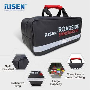 Risen Roadside Assistance Road Side Emergency Auto Emergency Car Kit Automotive Car First Aid Kit