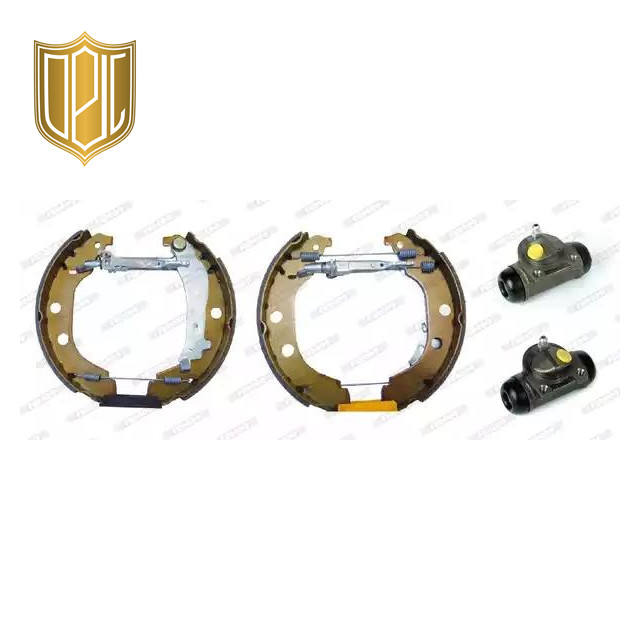 Factory Brake shoes 4241.6W for peugeot 406 with OE quality +one year warranty
